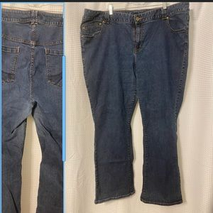Slim boot genius fit jeans size 28